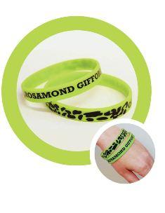 Zoo visitors can get a wristband for donating to conservation causes.