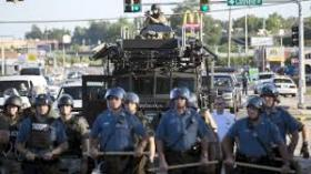 Some tactics used by police in Ferguson MO appeared militaristic, perhaps infringing on free assembly and protest rights.