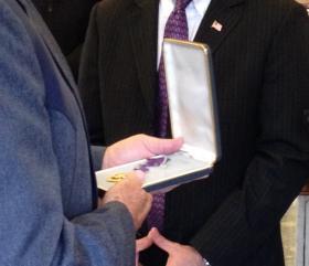 Hunnicutt's medal.