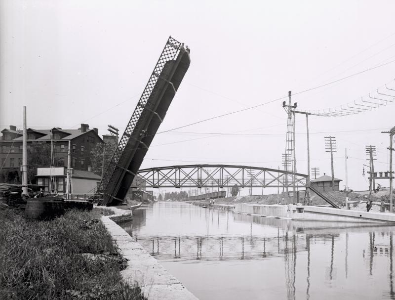 Bascule West Genesee, 1916