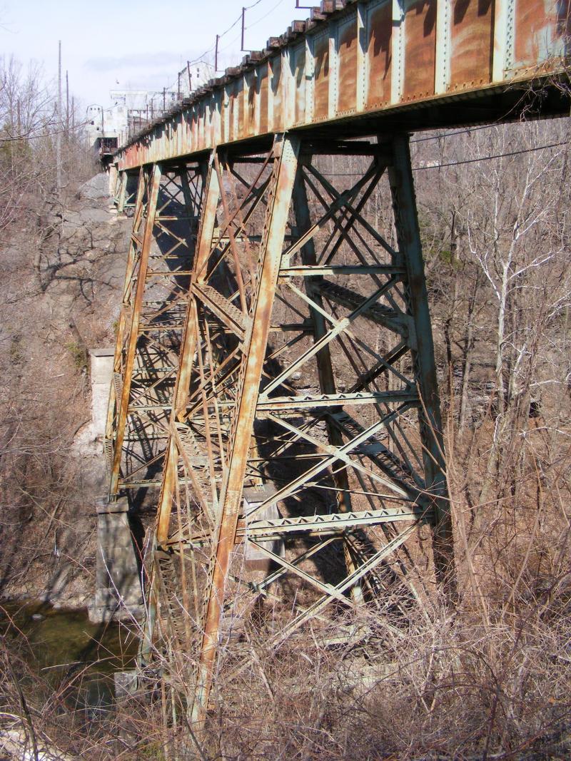 Jamesville Railroad Trestle