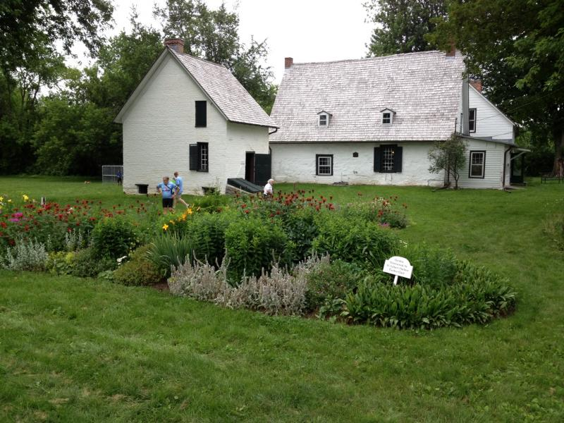 Mabee Farm built in early 1700s by Dutch Settlers and is now