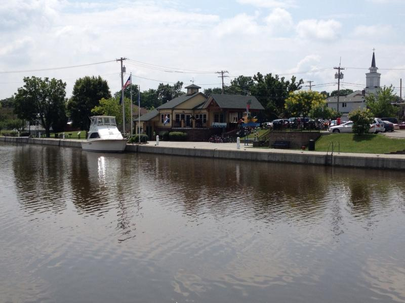 Tiny Village of Holley takes great pride in canal waterfront development.  They allow boat dockage, camping, and connect with hiking trails and civic events