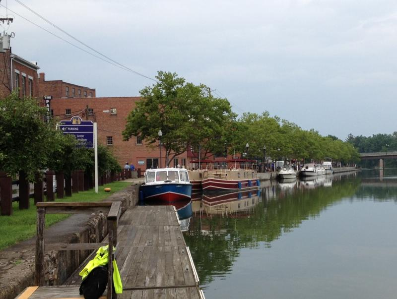 Seneca Falls is another community with extensive waterfront development, including Elizabeth Cady Stanton park.  Of course the Village gets tourism from the Seneca-Cayuga canal, as well as the National Women's Rights Hall