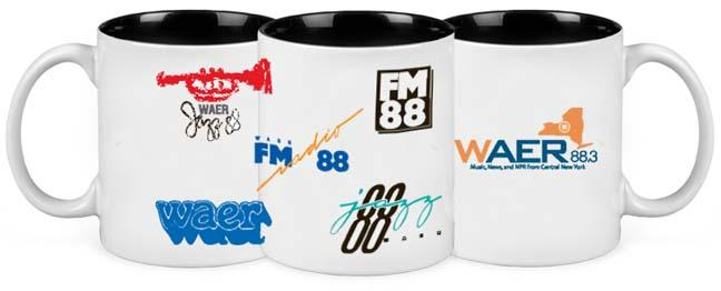 WAER Two Tone Mug
