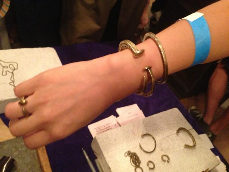Railroad Spike jewelry