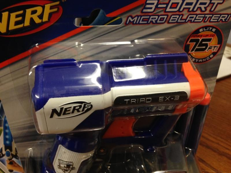 This item on Trecherous Toys list reportedly could lead to eye injuries.