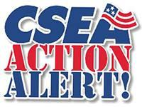 text logo c-s-e-a action alert