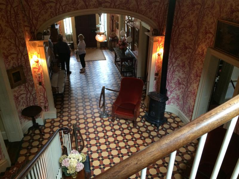 Visitors could also check out renovations done to the historic Lorenzo House