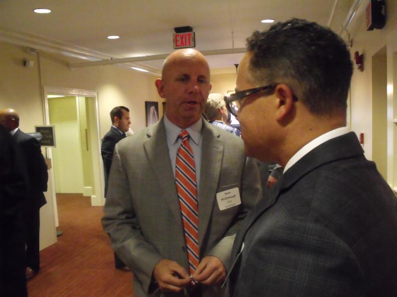 Sean McDonough chats with WAER GM Joe Lee