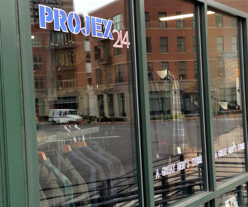 Projex 214, a mens fashion store, is one of seven new businesses that opened in downtown Syracuse Thursday.