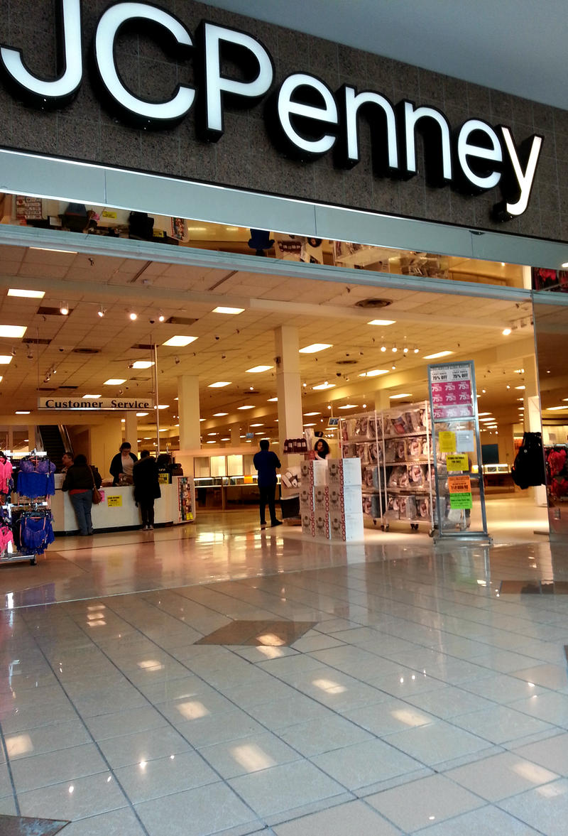 Front of J.C. Penny, from inside of Shoppingtown mall