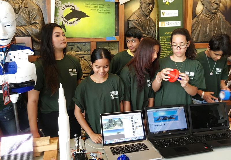 CNY Young Women Complete Region's First STEM Summer Camp