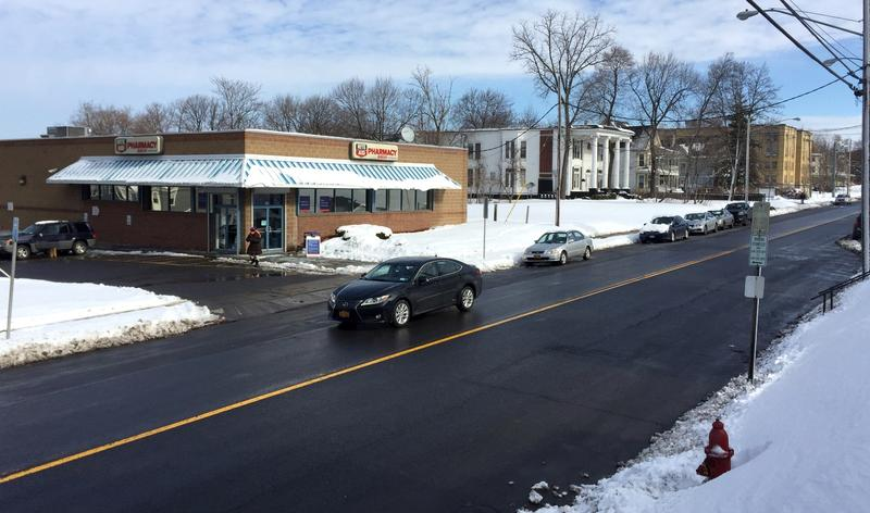 Has this Syracuse street corner been forgotten by history?  The store stis on the former home of Jermain Loguen, prominent abolitionsit and Underground Railroad conductor.