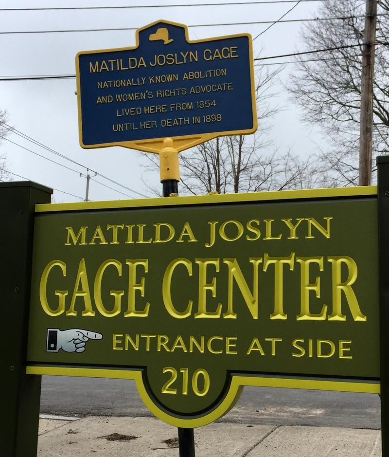 The home of Matilda Joslyn Gage in Fayetteville is know for conneciton to the Women's Rights movement - but not as the stop it was on the Underground Railroad.