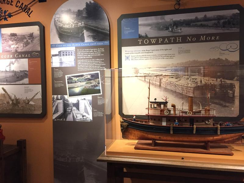 Exhibits in Erie Canal Museum in Syracuse show different versions of the waterway as commerce needs changed.
