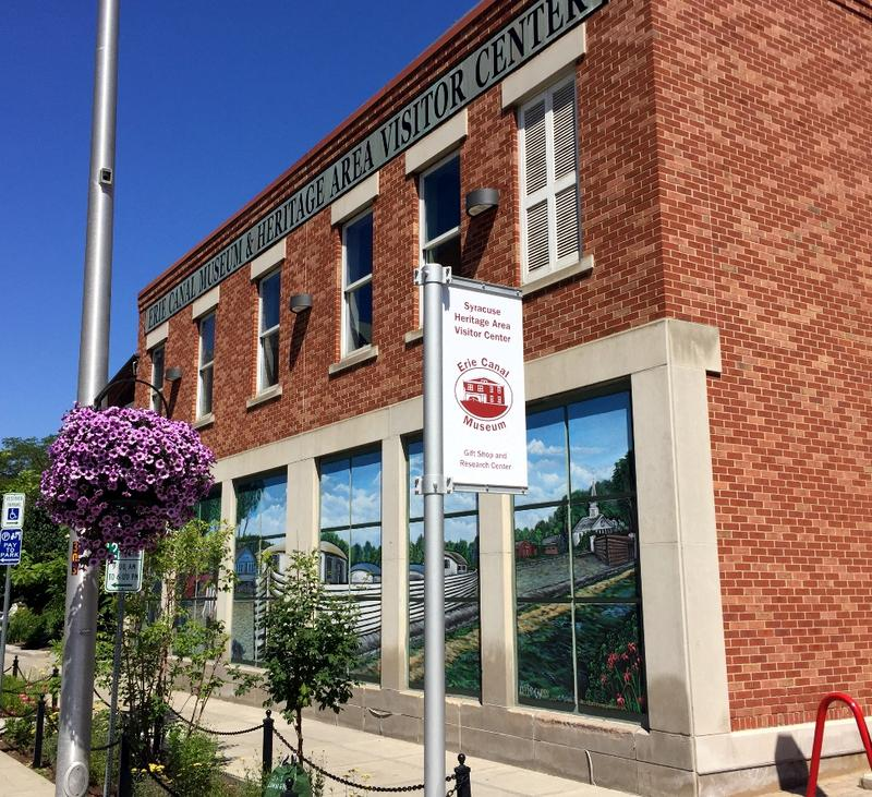 The Eire Canal Museum is on Water Street in downtown Syracuse