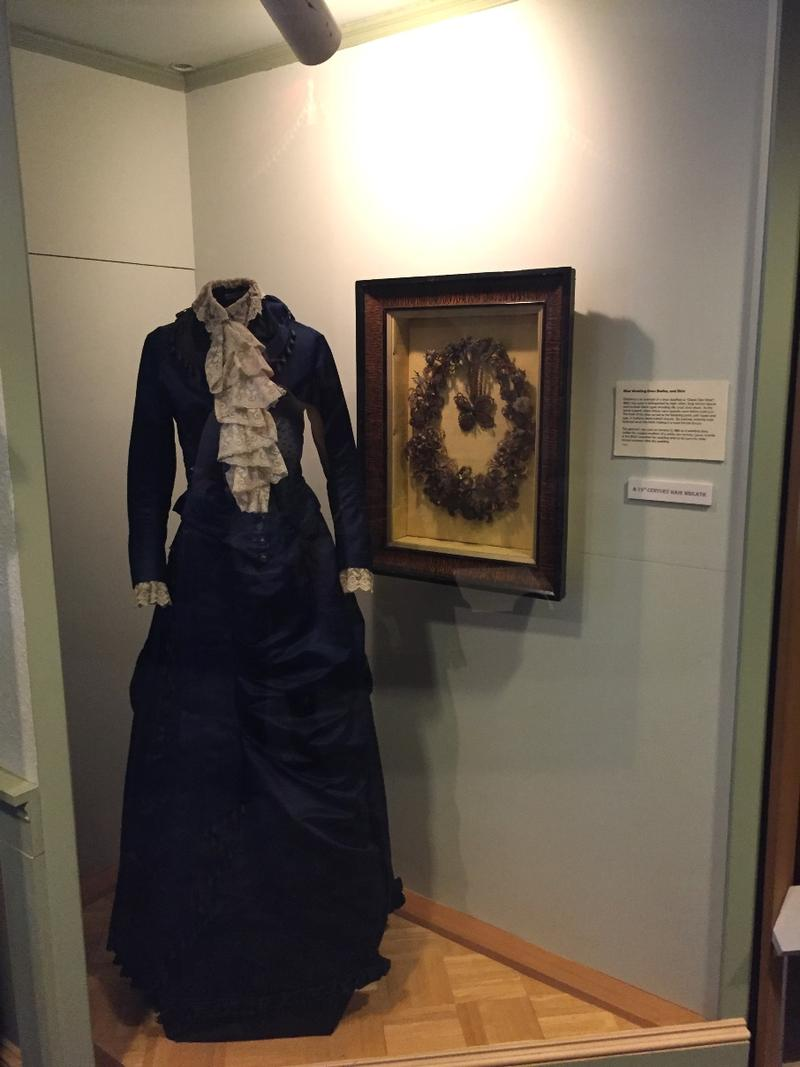 Period dress in the Museum's collection
