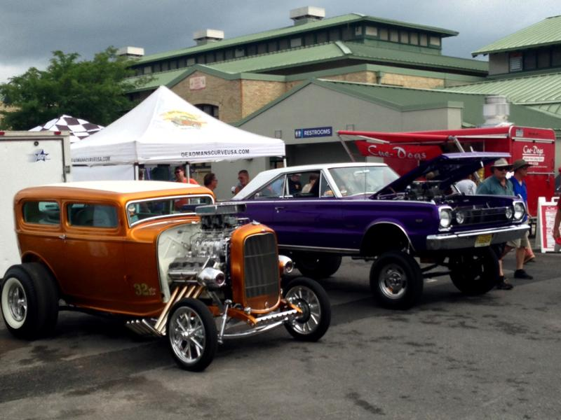All eras of cars are represented at the Syracuse Nationals, which runs through July 16th.