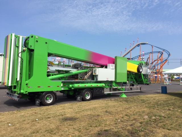 Rides come to the state fair often folded up on trucks, giving inspectors a chance to check out hidden joints and workings for safety.