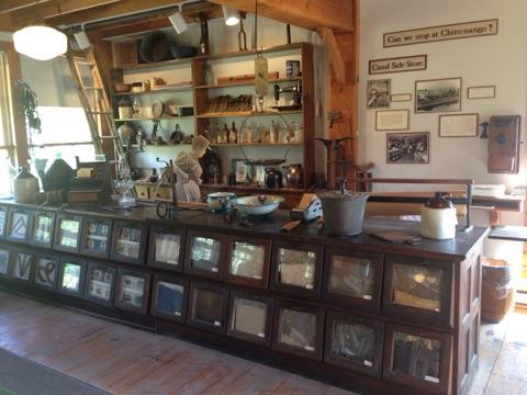 The General Store main counter.