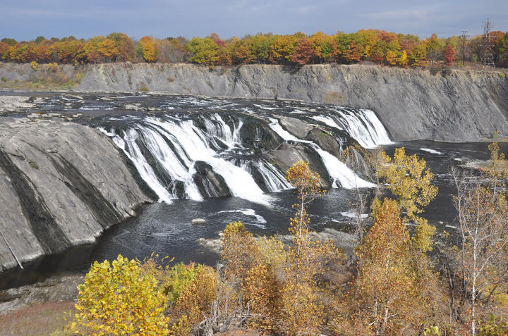 Natural features such as Cohoes Falls could be the basis for increased tourism