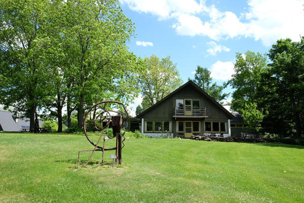 The House that Dorothy and Robert Reister built at the Art Park