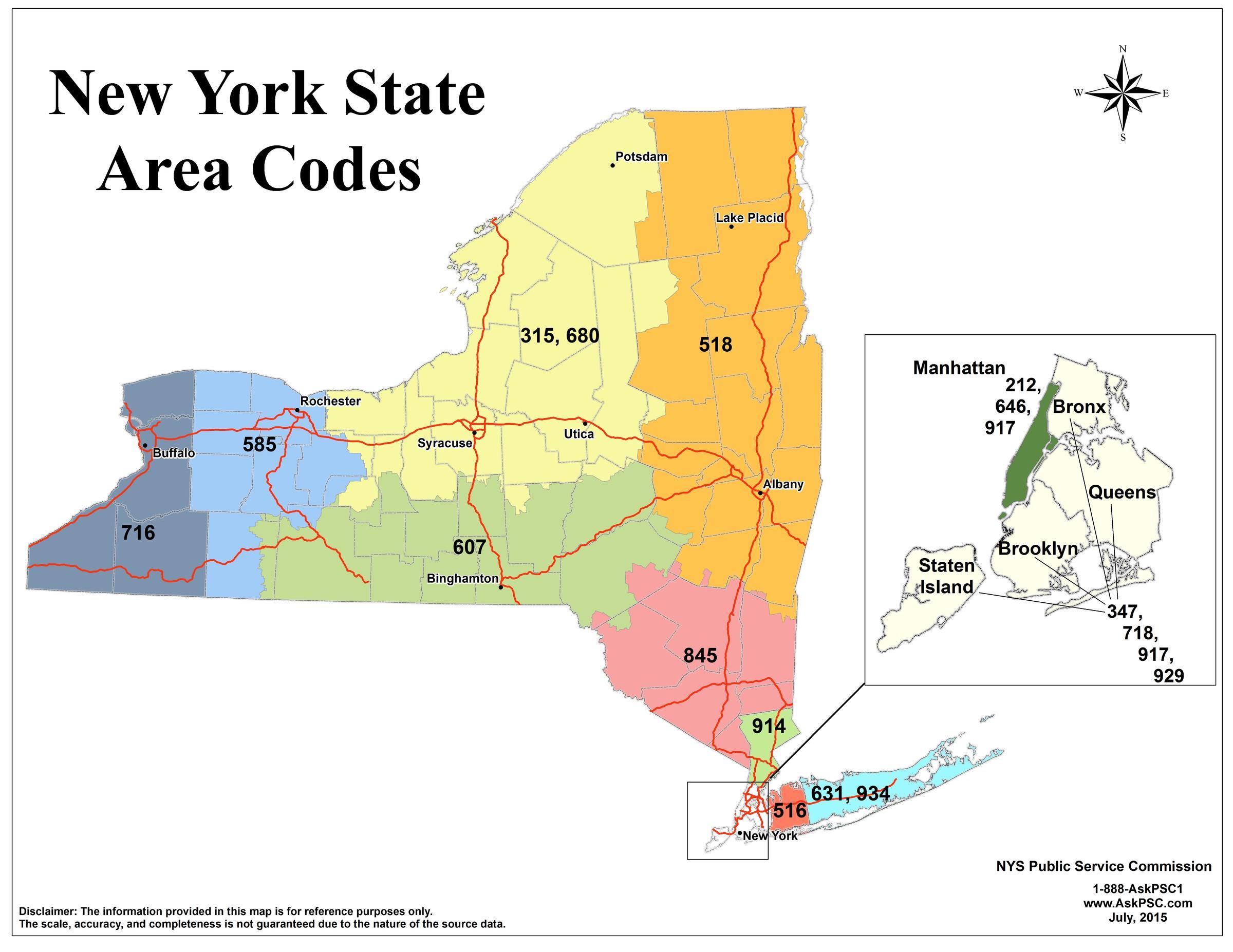 Area Code Meet Your New Partner WAER - 315 area code map