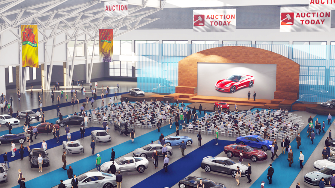 An auto show could be one of the events held in the new Expo Center