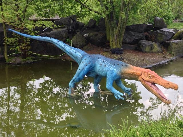 no worries the dinosaurs won t bite at the rosamond gifford zoo waer