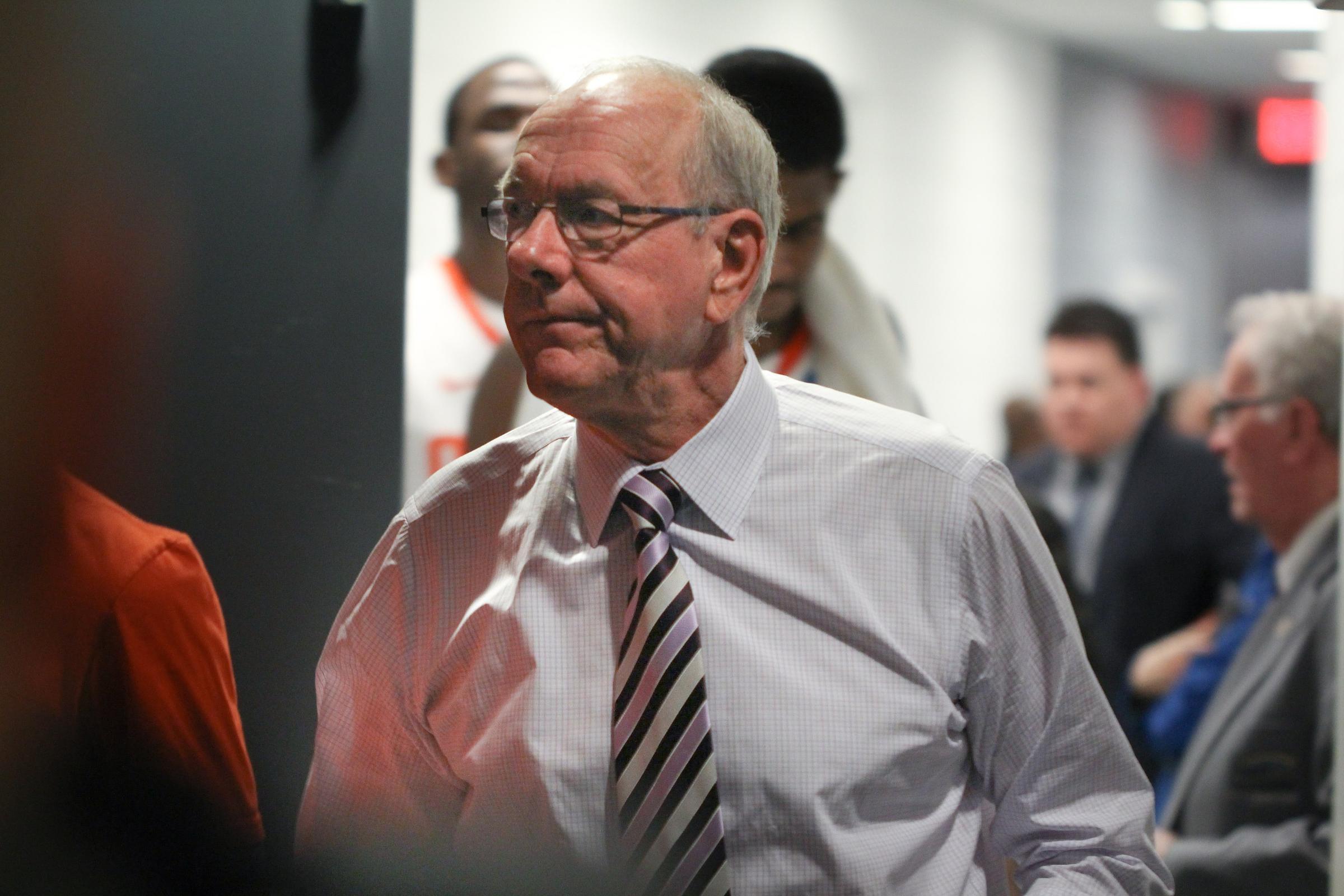 Su Basketball Coach Jim Boeheim Strikes Kills Man On I 690 Waer