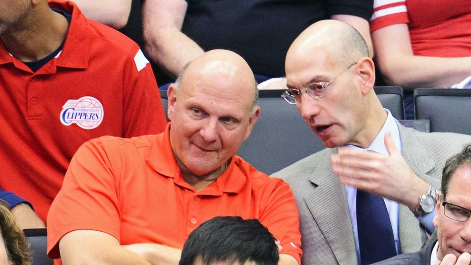 sports report steve ballmer welcomed to los angeles as new clippers