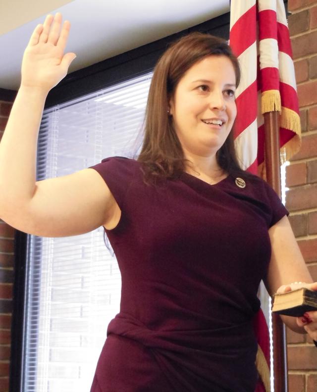 Elise Stefanik Holds Ceremonial Swearing-In In Plattsburgh ...