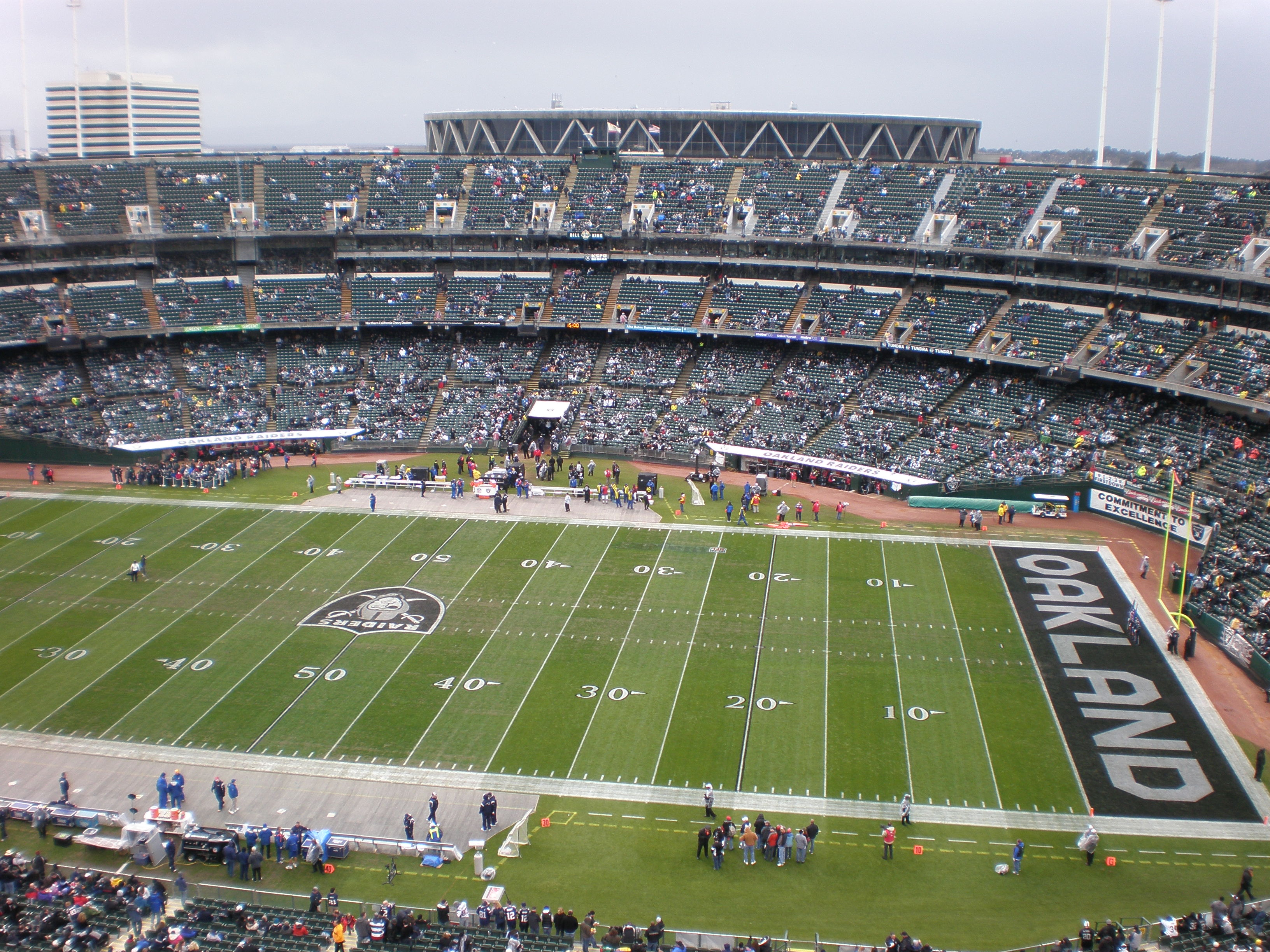 SportsReport Oakland Raiders File For Relocation To Las Vegas
