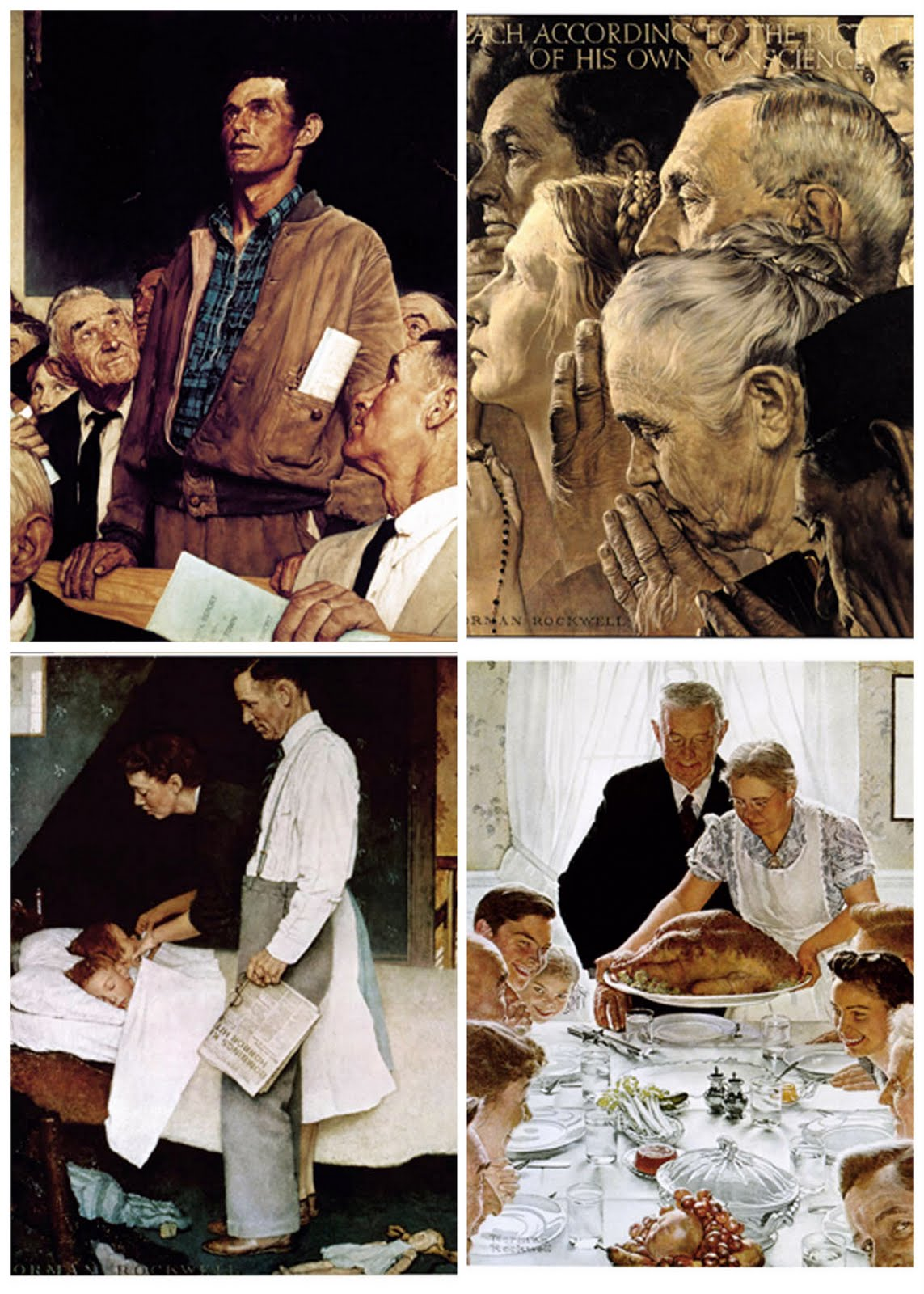 The Four Freedoms At Norman Rockwell Museum | WAMC