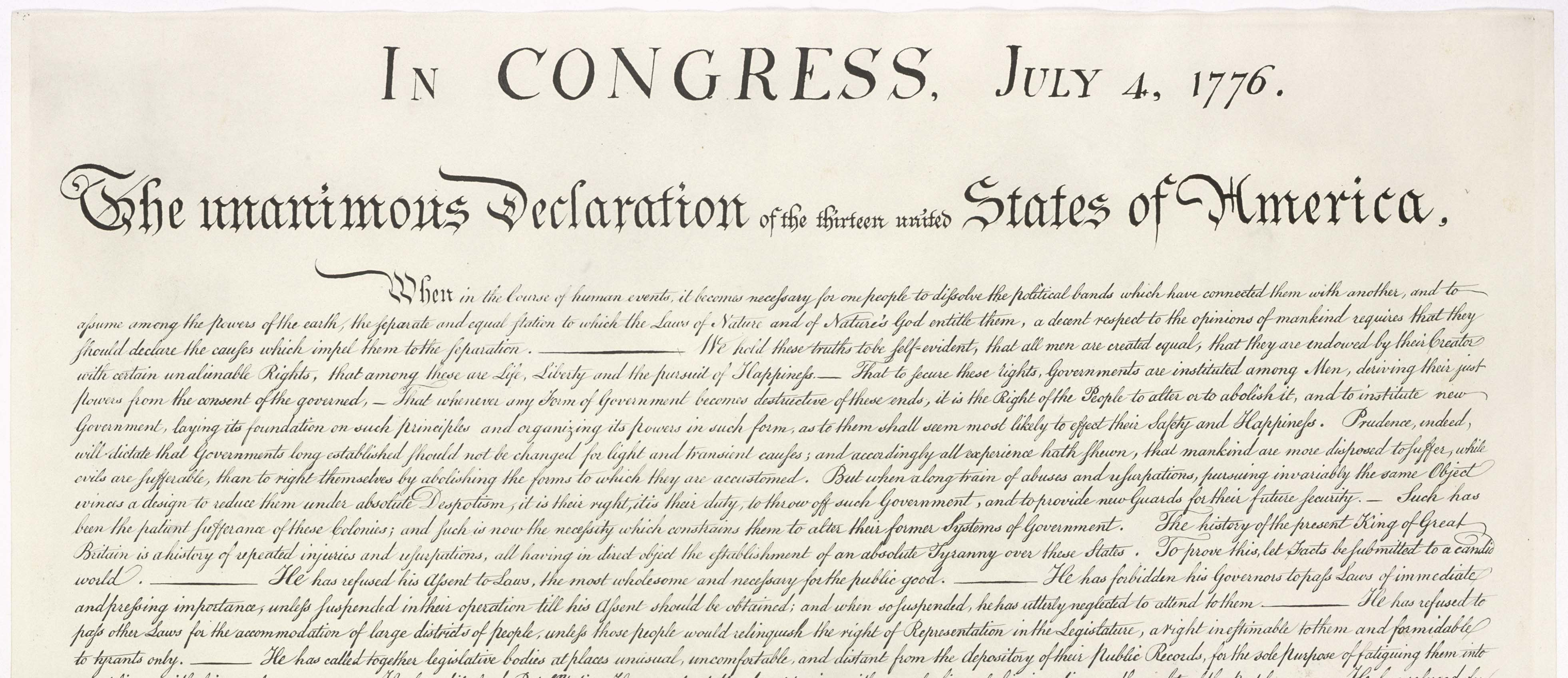 united states declaration of independence 4 essay Declaration of independence importance essaysthe declaration of independence, signed on july 4th 1776, is one of the most important documents in american history it helped to define america's values and its freedom, as it still stands today.