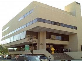 The Hampden County Hall of Justice in Springfield where Anthony Baye pleaded guilty to setting a series of fires in Northampton between 2007 and 2009.