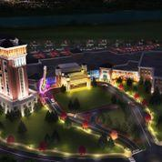 A rendering of the proposed Hard Rock resort casino at the Big E in West Springfield