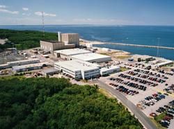 Pilgrim Nuclear Power Station in Plymouth, MA.