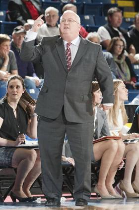 Brian Giorgis leads the Marist women's basketball team