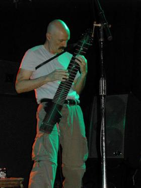 Tony Levin playing the Chapman Stick live at Toad's Place, New Haven, CT in November, 2006.