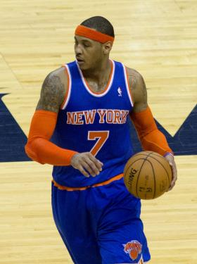 Carmelo Anthony might not play on Christmas.