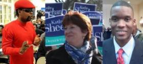 Marlon Anderson, Kathy Sheehan, Corey Ellis: Albany 2013 Mayoral hopefuls.