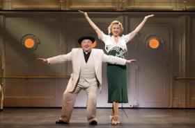 Fred Applegate and Rachel York in Anything Goes.