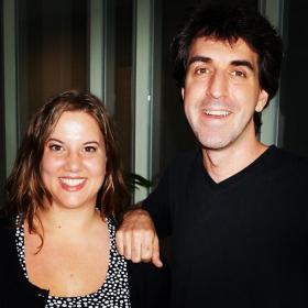 Sarah LaDuke and Jason Robert Brown