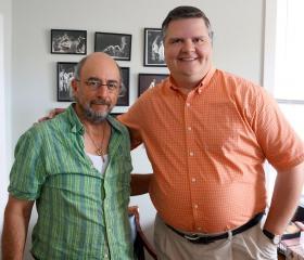 Richard Schiff and Joe Donahue