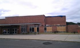 Cathedral High School in Springfield, MA was damaged by the June 1,2011 tornado.