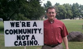 Nathan Bech, who lead the campaign against Hard Rock's proposed casino in West Springfield, MA