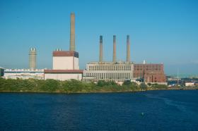 The Mystic Generating Station near Boston, MA.