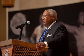University of Massachusetts Board of Trustees Chairman Henry Thomas